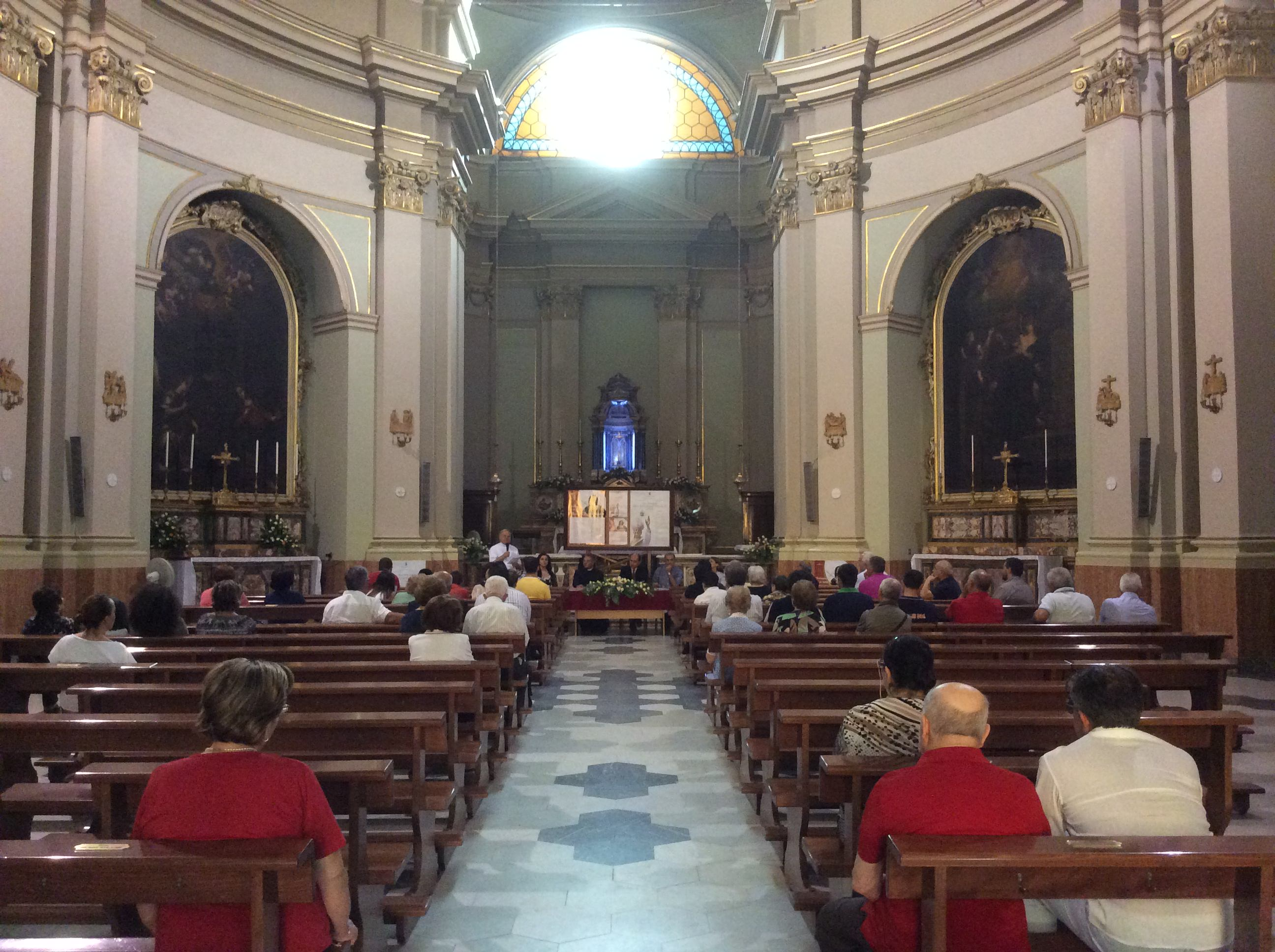 La chiesa della SS. Annunziata
