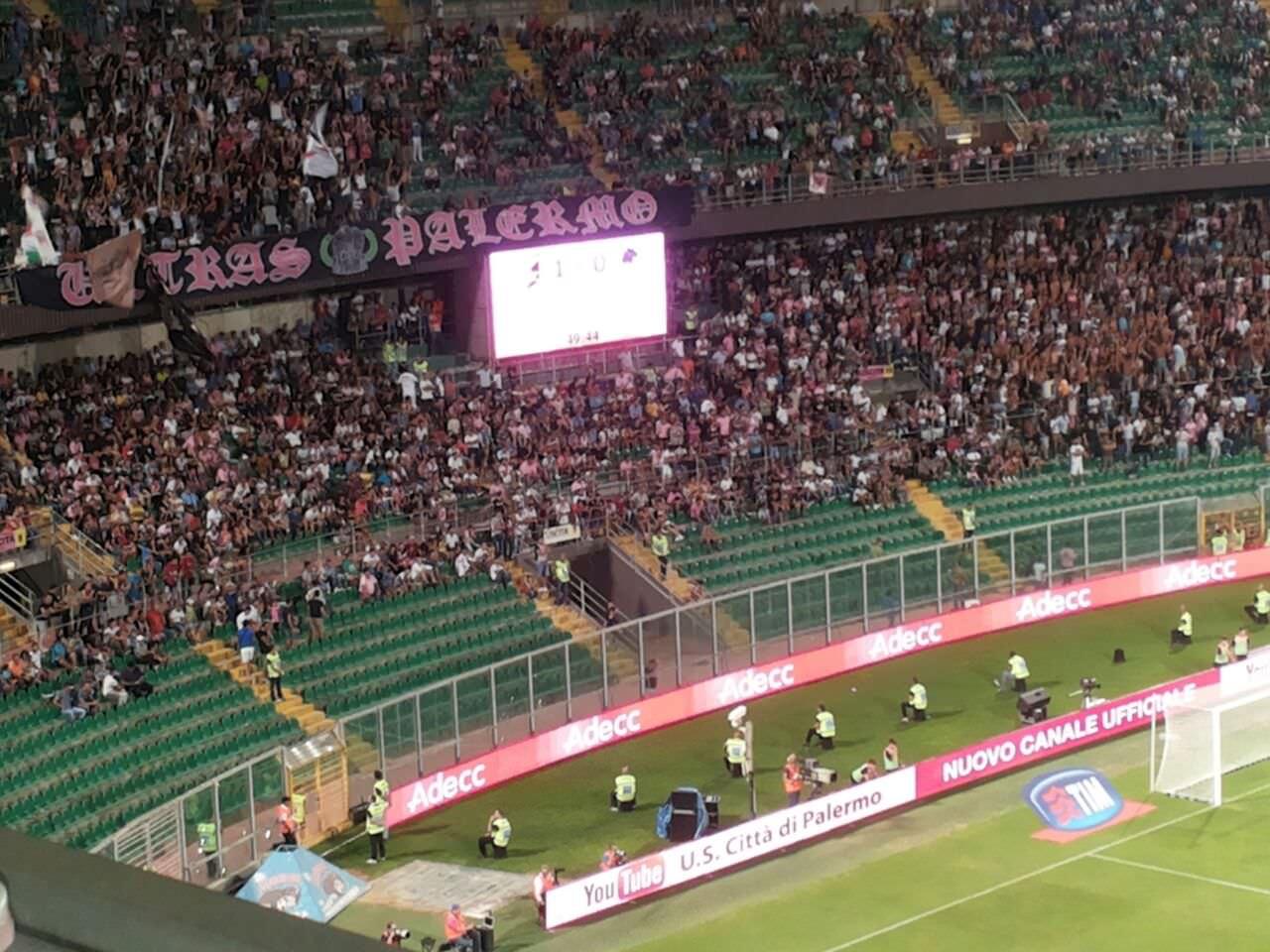 Palermo Sampdoria 31-08-14
