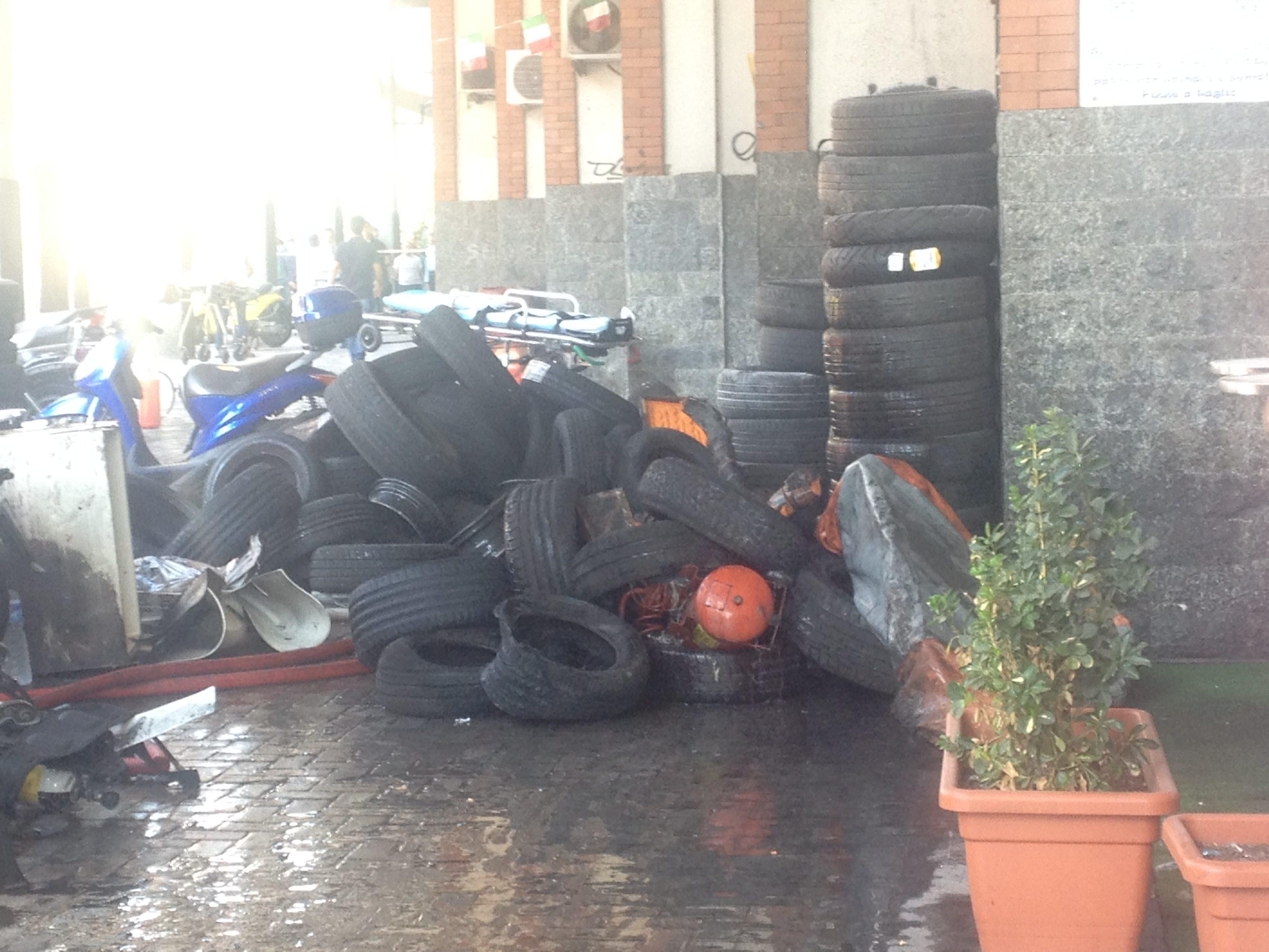 Copertoni gommista via Torino