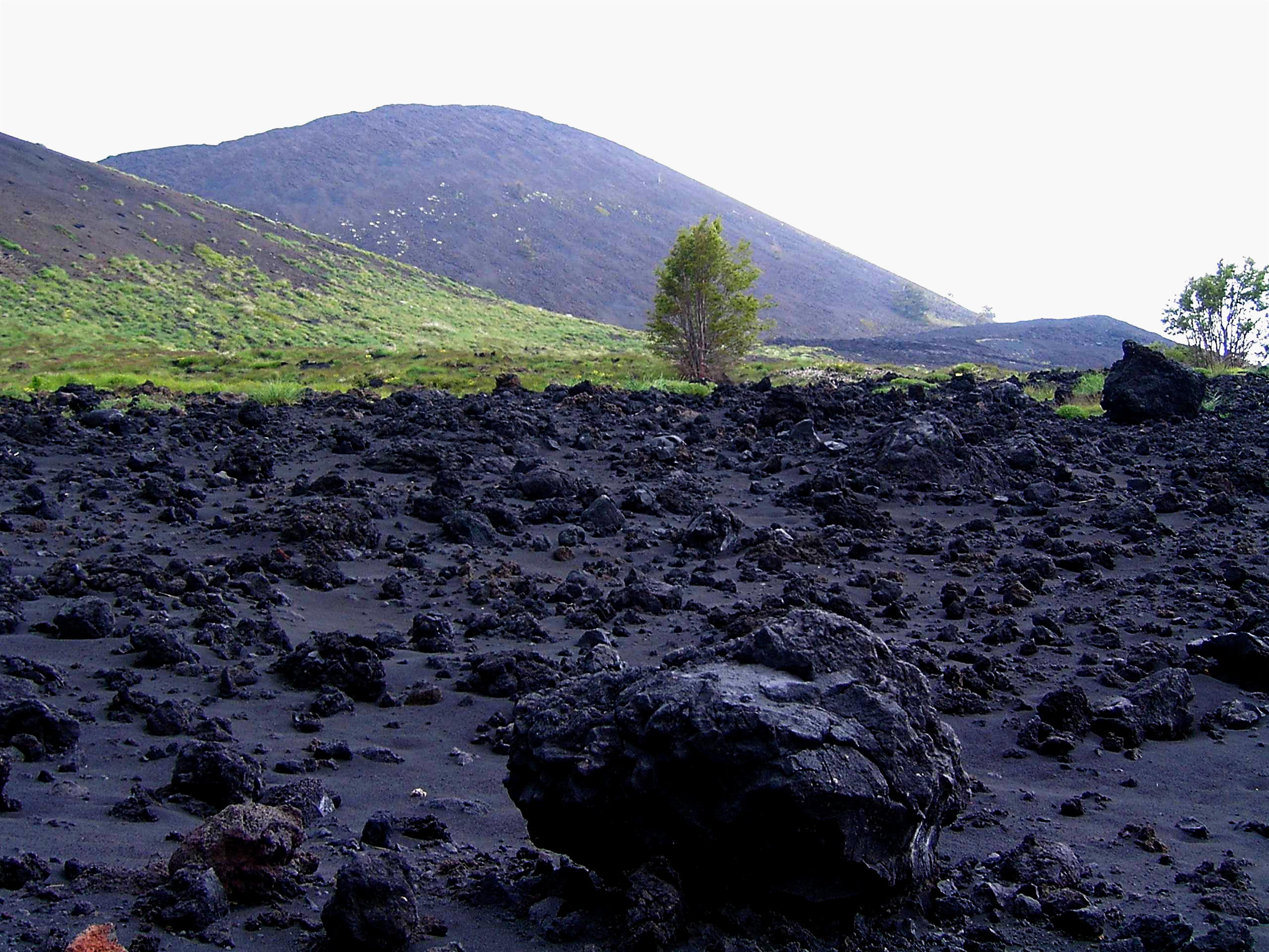 Versante orientale dell'Etna