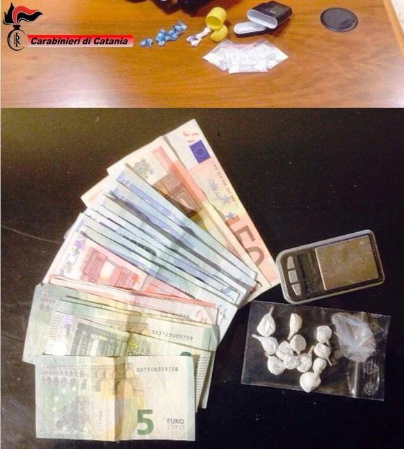 droga p.zza dante_soldi_denari_carabinieri