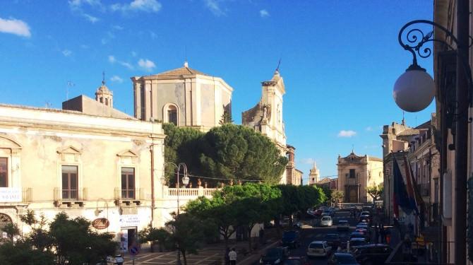 Piazza Umberto, Paternò