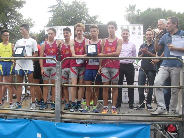 Premiazione società cadetti - Virtus Acireale
