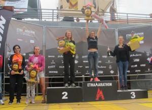 Podio femminile Marathon
