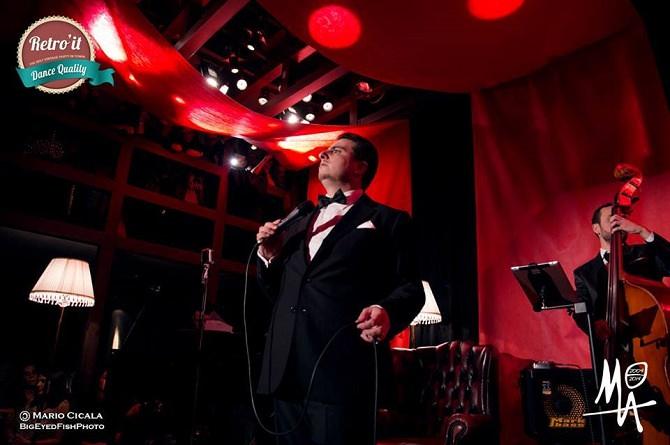 Antonio Campanella e Chicky Mo Swing Band