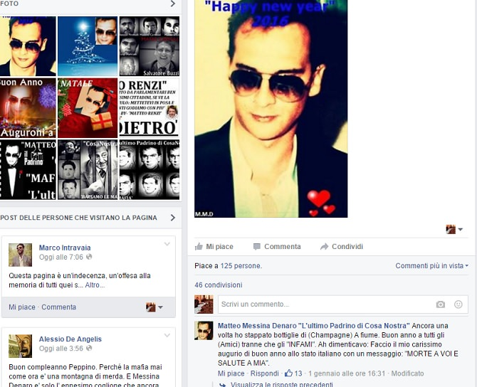 Post pagine Mattia Messina Denaro
