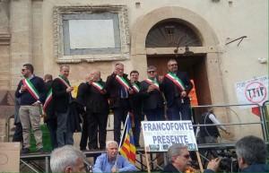 Manifestazione Francofonte 1