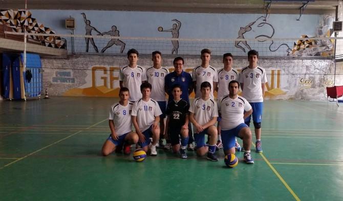 La squadra maschile del Vaccarini neo campione provinciale dei CS 2015-2016