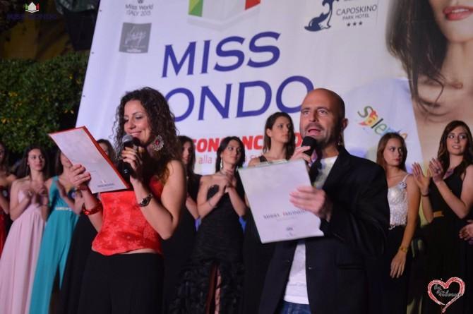 Valeria Pellegrino e Luca Abete nella finale del 2015 a Gioiosa Marea