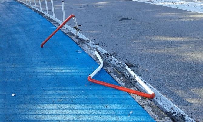 pista ciclabile danneggiata (1)