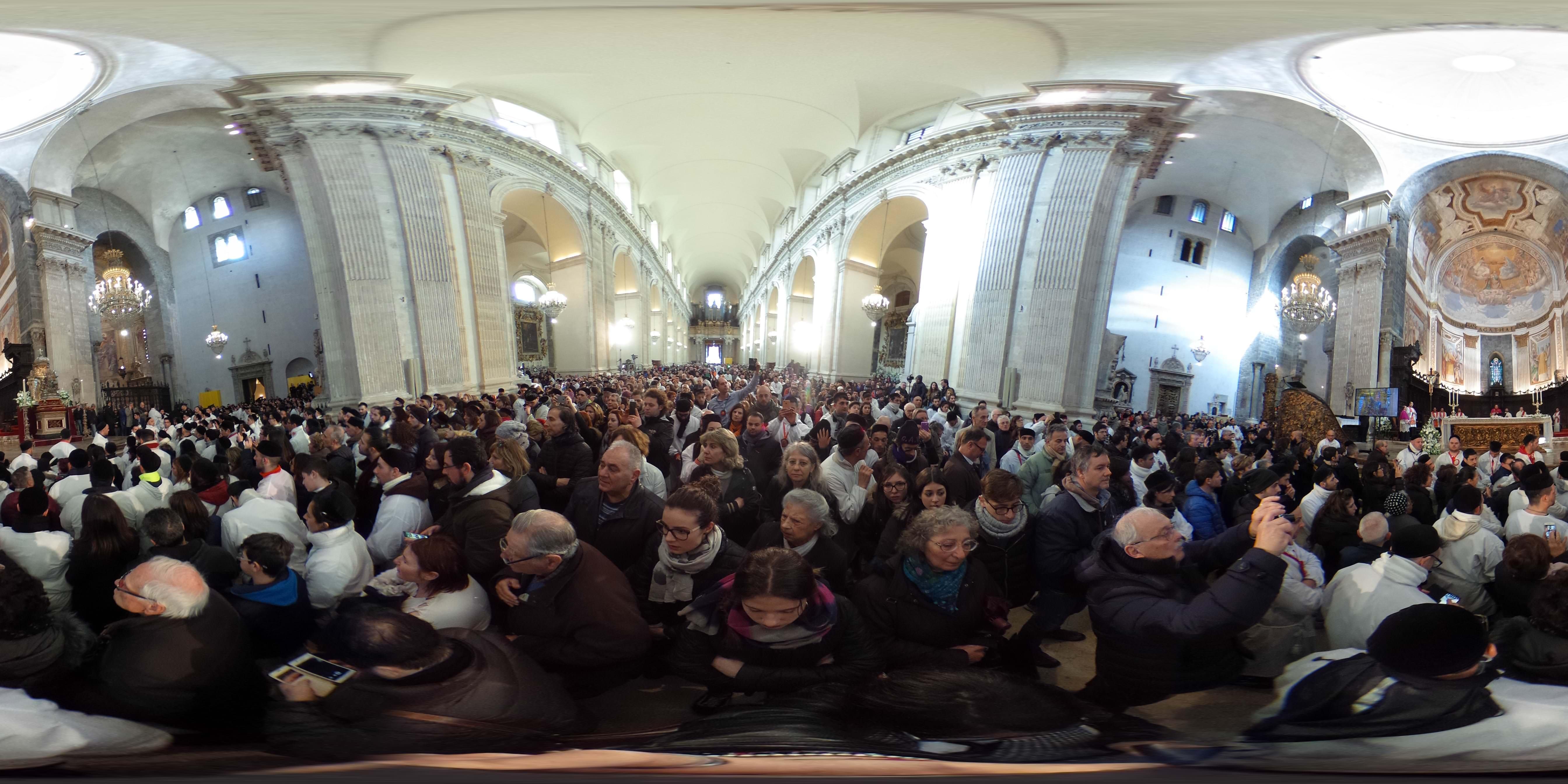Rientro Sant'Agata Cattedrale 6 febbraio 360