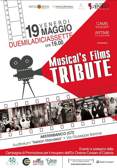 LOCANDINA CAMS MUSICAL'S FILM TRIBUTE