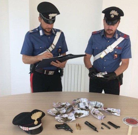 Sequestro armi e droga Carlentini