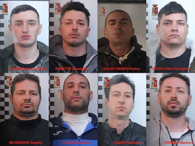 Rapine ville case isolate Messina Palermo