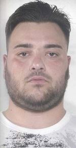 Nicolò Trovato, 21 anni, di Biancavilla, arrestato per il reato di rapina di un bancomat.