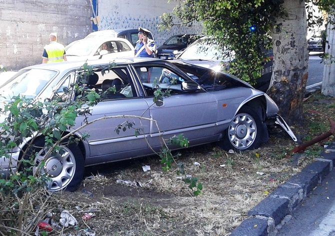 incidente 13 giugno viale ulisse (3)