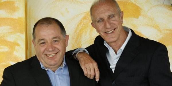 I due comici Toti e Totino.