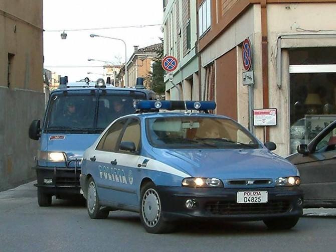 volante polizia