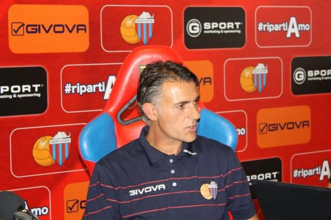 Maurizio Pellegrino - Allenatore Catania Calcio