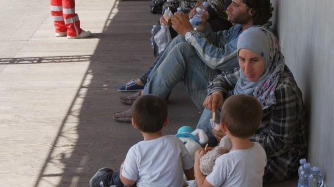 Migranti e bambini