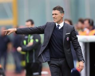 L'allenatore del Catania Maurizio Pellegrino.