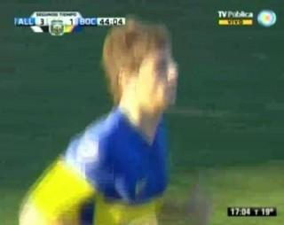 Sauro al Catania. Un suo gol con la maglia del Boca