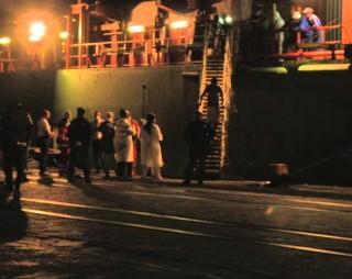 Sbarco migranti al Porto di Catania