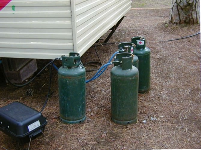gas bombole