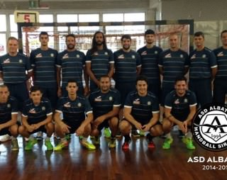 albatro siracusa 2014-15 squadra