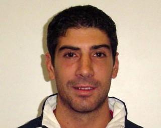 Il palleggiatore Riccardo Bocchieri