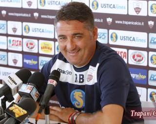 Il tecnico del Trapani Roberto Boscaglia