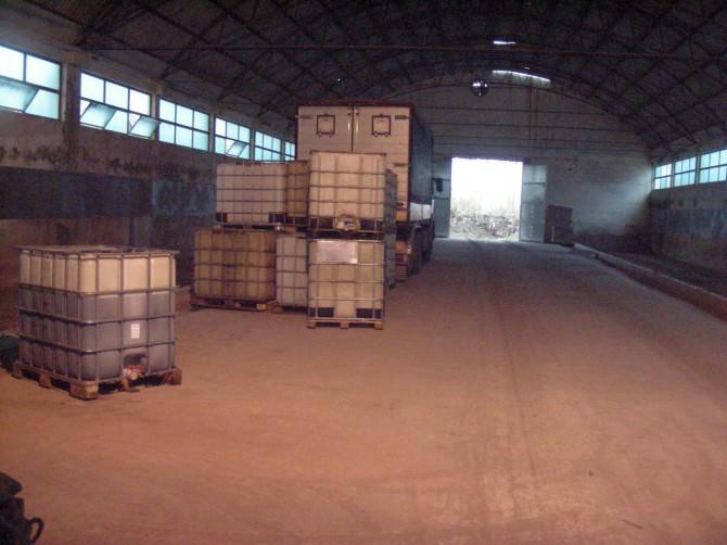 Deposito carburante zona industriale