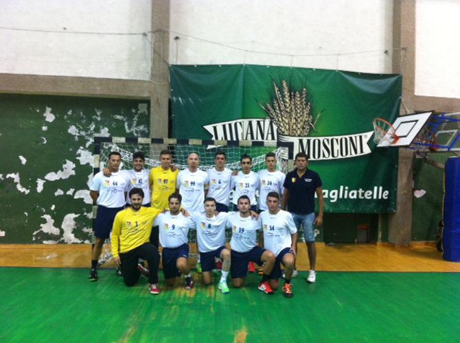 foto team handball alcamo