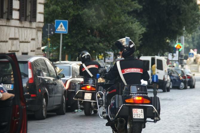 moto carabinieri 1