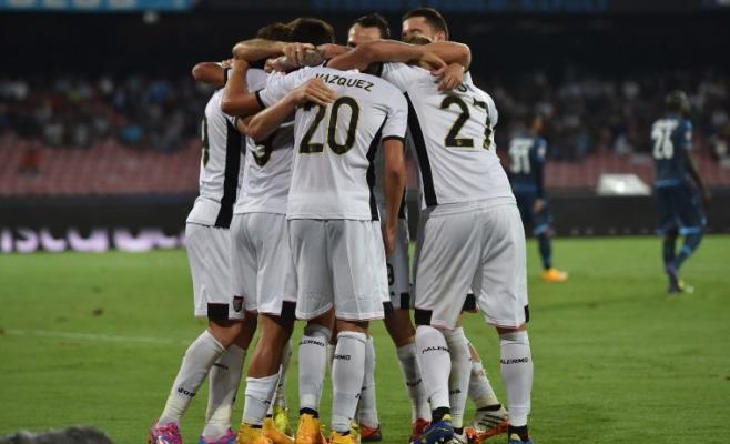 palermo  calcio vs Napoli