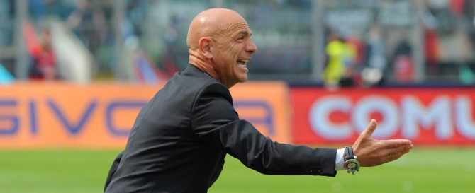 Giuseppe Sannino, allenatore del Catania.