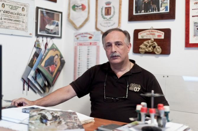Antonino Lamberto presidente del Guzzimania MotoClub