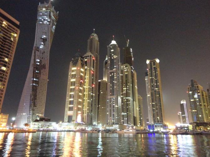 Dubai notte