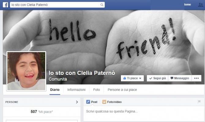 Io sto con Clelia Paternò