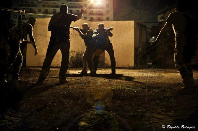 L'atmosfera che attende i partecipanti a Zombieland