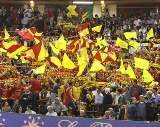 Barcellona basket pubblico