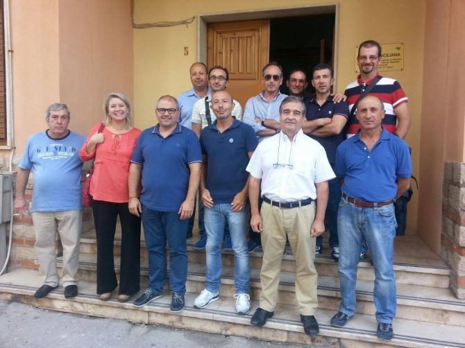 Delegazione forestali trapani 21-10-14