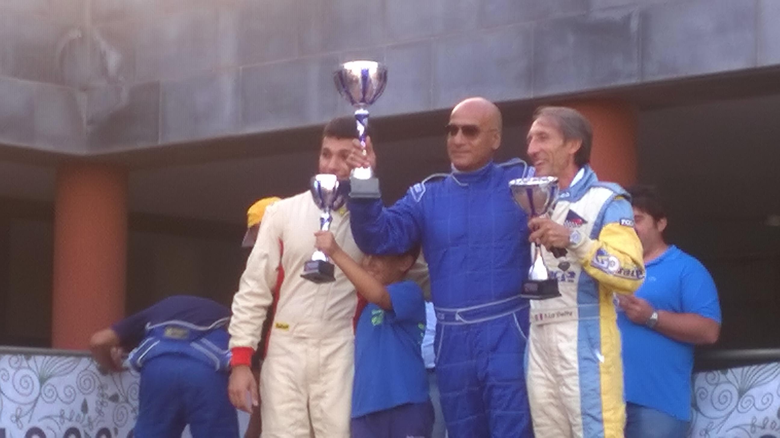 Enzo Affronto, vincitore nella classe Racing Start