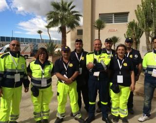 I volontari di Protezione Civile
