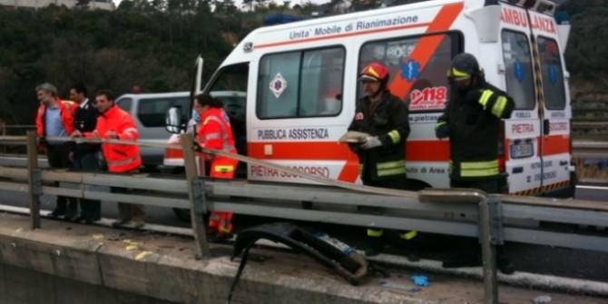 incidente viadotto