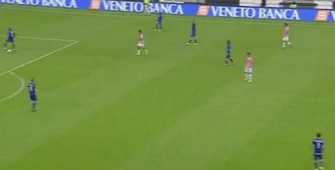 © Newsicilia.it - Azione di gioco nella partita Juventus-Palermo.