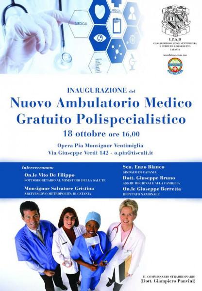 locandina_ambulatorio_gratuito_polispecialistico