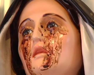 madonna che piange