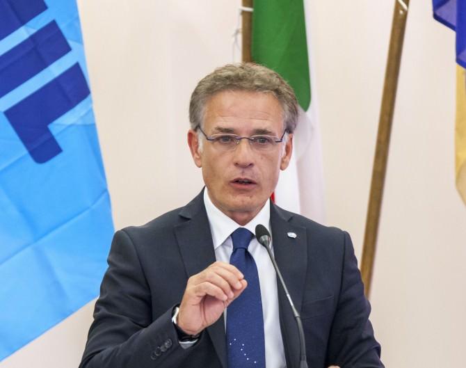 Mario D'Angelo, segretario generale Uiltucs Trapani