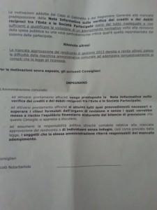 L'ordine del giorno presentato dal consigliere Notarbartolo